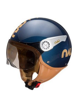 Nau Fashion helm Blauw