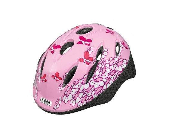 Kinderhelm Smooty Zoom Pink Butterfly M